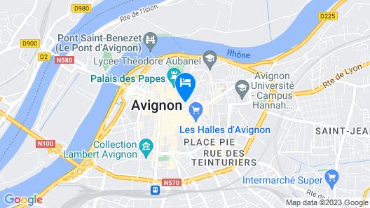 B&B La Petite Saunerie Map