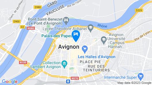 La Mirande Map