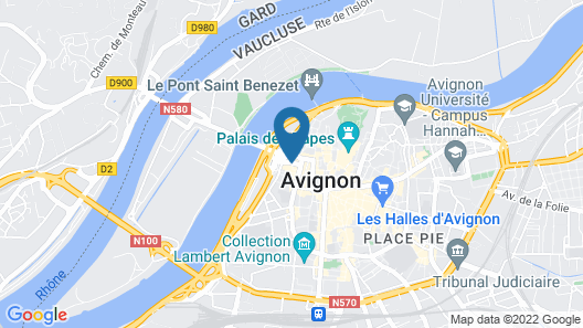 Hotel d'Europe Map