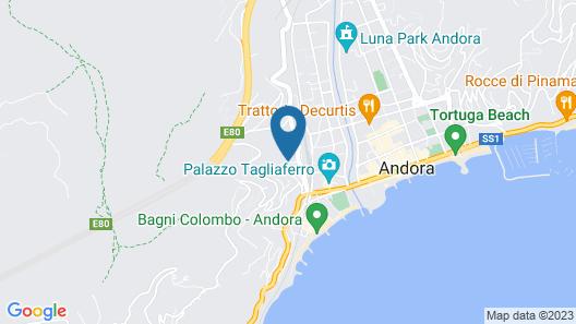 Residence Il Poggio Map