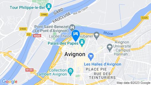 Mercure Pont d'Avignon Centre Map
