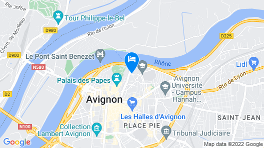 Villa de Margot Map