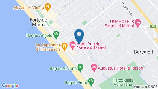 Villa Roma Imperiale Map