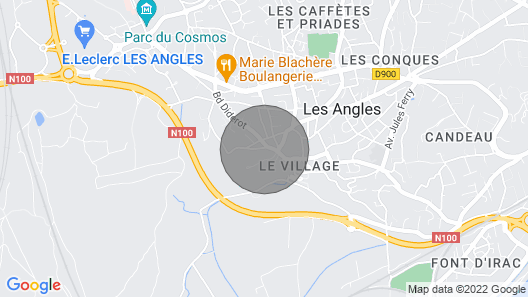 Ideal for the Festival 5 Minutes From Avignon Map
