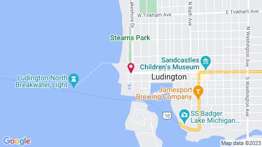 Snyder's Shoreline Inn Map