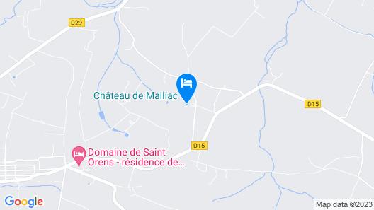 Château de Malliac Map
