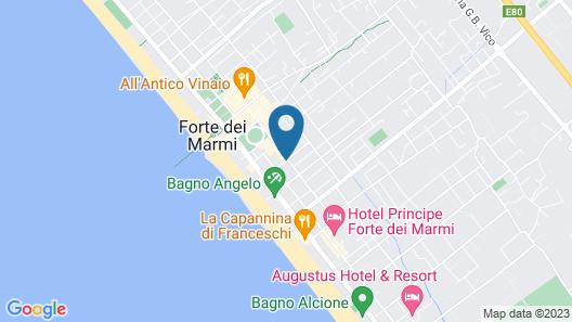 Hotel Goya Map