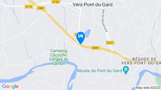 La Bégude Saint-Pierre Map