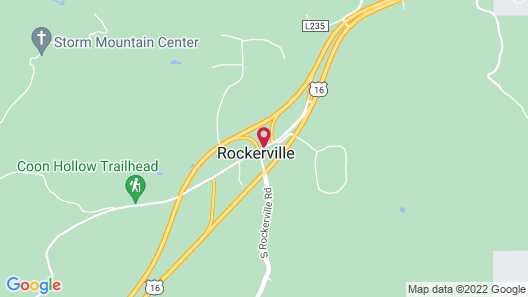 Rockerville Lodge & Cabins Map