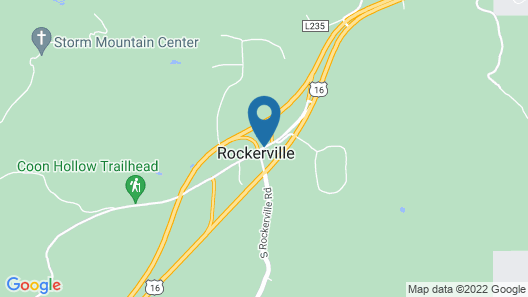 Rockerville Lodge & Cabins Map
