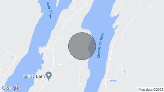 Make Shimmering River Retreat Your Maine Coastal Getaway! Map
