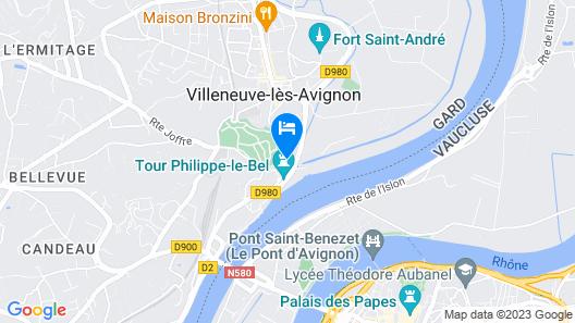 Maison Orsini Map