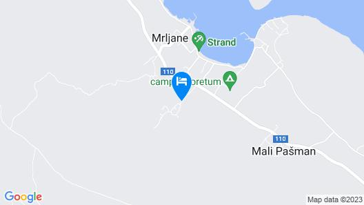 Aparthotel Mediteran Map