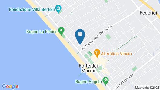 Albergo Villa Gradita Map