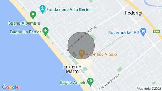 Vacation Home Villa Gino in Forte dei Marmi - 10 Persons, 5 Bedrooms Map