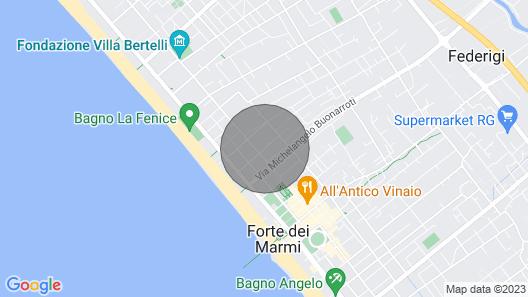 Caterina Apartment Map