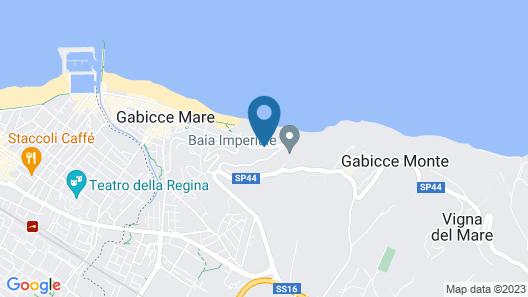 Hotel Capo Est Map