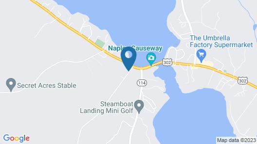 Lakeview Inn Map