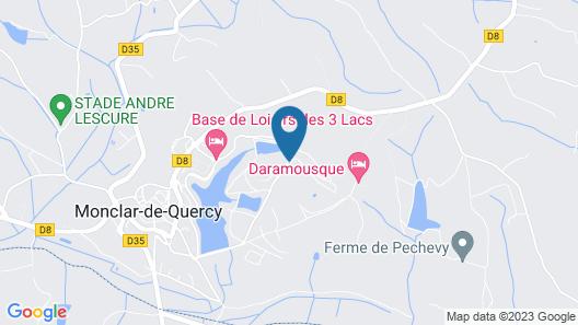 Terres de France - Hameaux des Lacs Map
