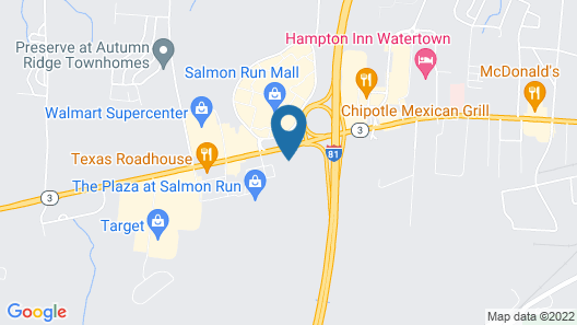 Ramada by Wyndham Watertown Map