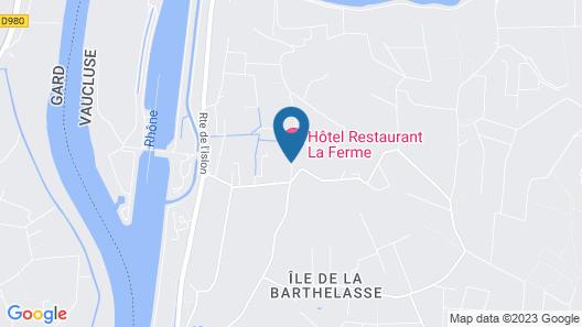 Hotel Restaurant La Ferme Map