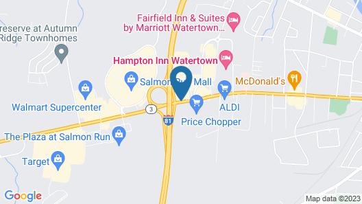Hilton Garden Inn Watertown/Thousand Islands Map