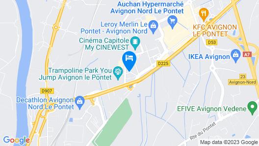 Terre de Provence Hôtel & Spa Map