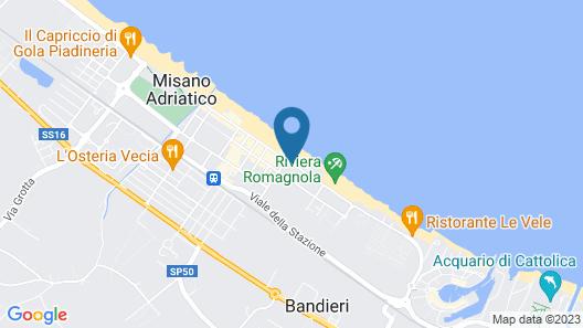 Hotel Alba Map