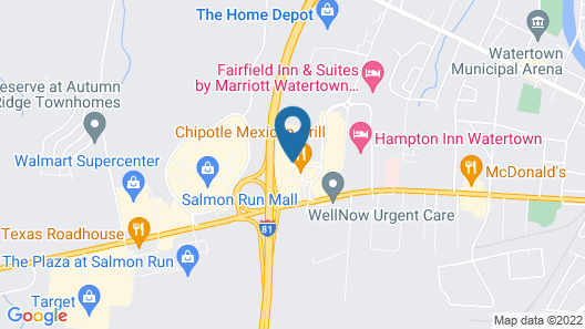 Holiday Inn Express Hotel & Suites Watertown-Thousand Island, an IHG Hotel Map