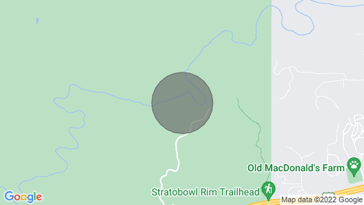 Secluded Creekside Cabin With Best Swimming Hole on Spring Creek - Stratobowl Map