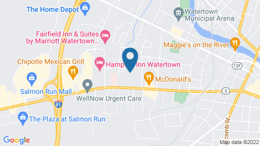 Econo Lodge 1000 Islands Map