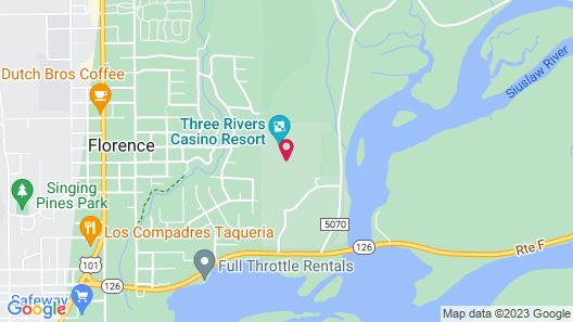 Three Rivers Casino Resort Map