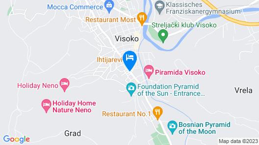 Kingdom Rooms Visoko Map