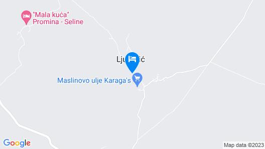 2 Bedroom Accommodation in Ljubotic Map