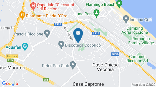 Residence Al Colle dei Pini Map