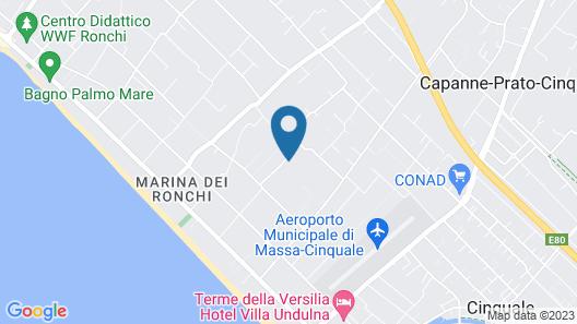 Hotel La Bussola Map
