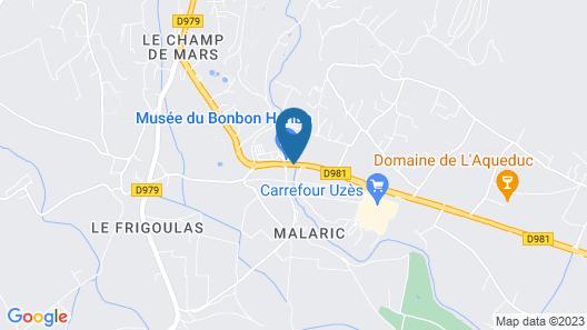 Auberge d'Uzès Map