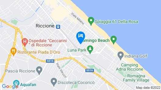 Hotel Bellini Map
