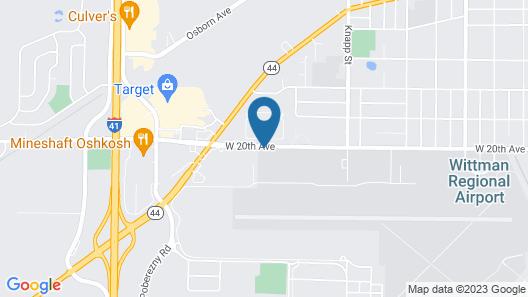 Hilton Garden Inn Oshkosh Map