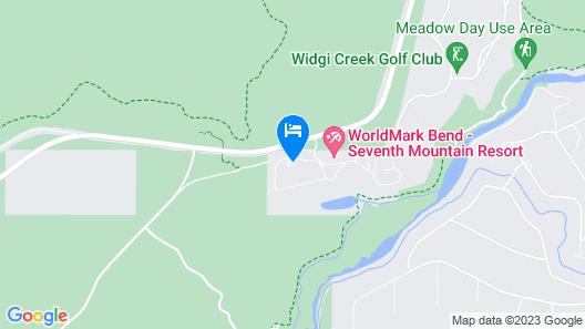 Seventh Mountain Resort Map
