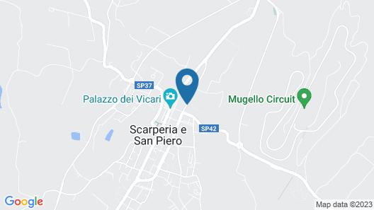 Villa Torricelli by il giardinetto Map