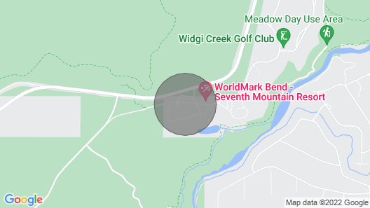 Dog Friendly at the Seventh Mountain Resort! Map