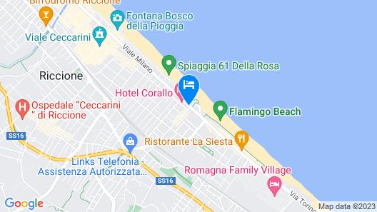 Hotel Baltic Map