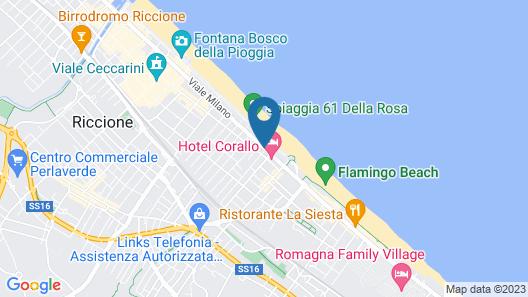 Hotel Ambasciatori Map