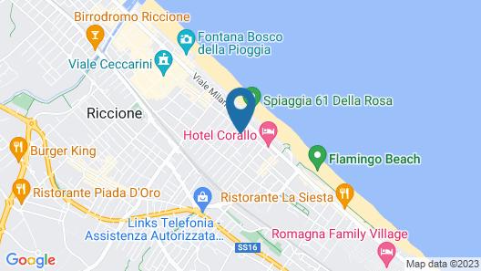 Hotel Diamond Map