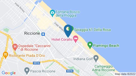 Hotel Select Suites & Spa Map