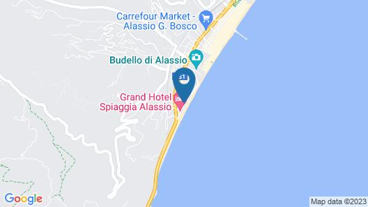 Grand Hotel Mediterranee Map