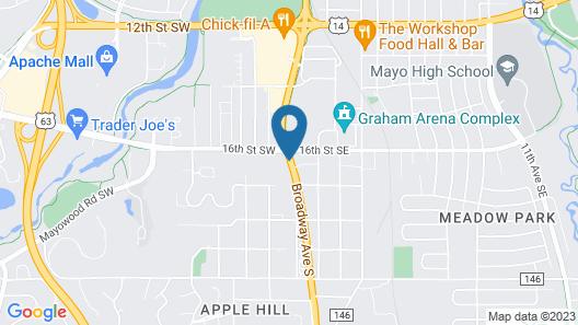 Ramada by Wyndham Rochester Mayo Clinic Area Map