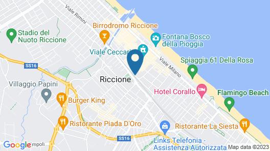 Hotel De la Ville Map