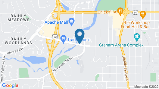 Home2 Suites by Hilton Rochester Mayo Clinic Area Map